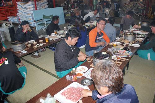 BBQや芋煮会、忘年会など、社内行事も盛りだくさんの楽しい職場です。